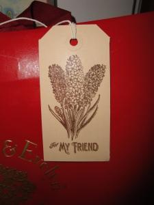 Hyacinth tag 1
