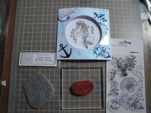 Little Mermaid stamps used