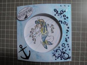 Little Mermaid 2 card