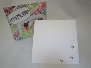'Hey there' with envelope 1