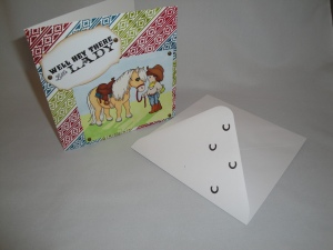 'Hey there' with envelope 2