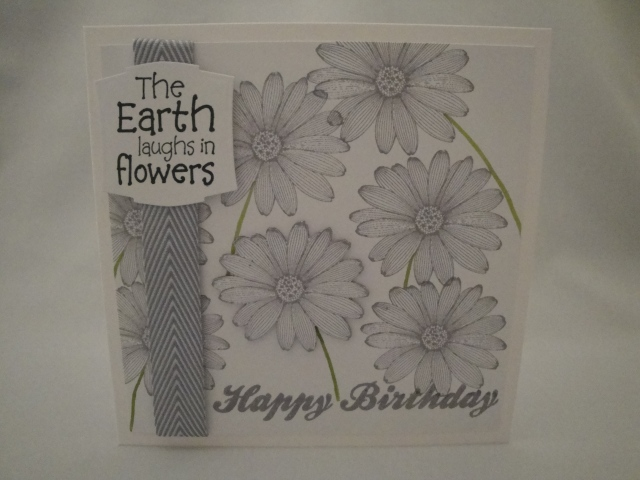 Flowers Birthday Card 1