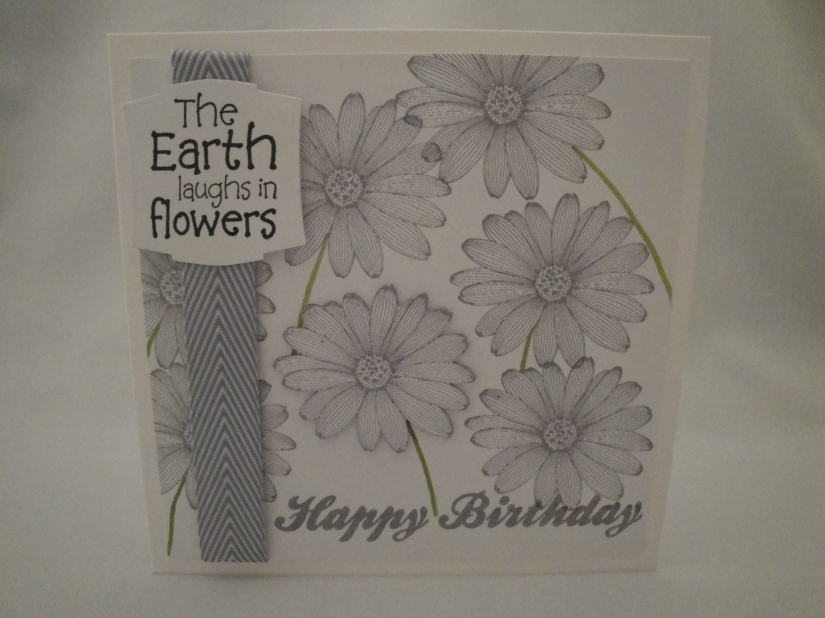 Flowers Birthday Card 1