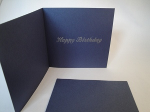 Olivia's 6th B'day card inside