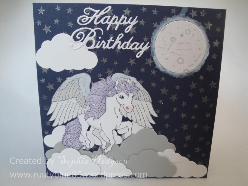 Olivia's 6th B'day card
