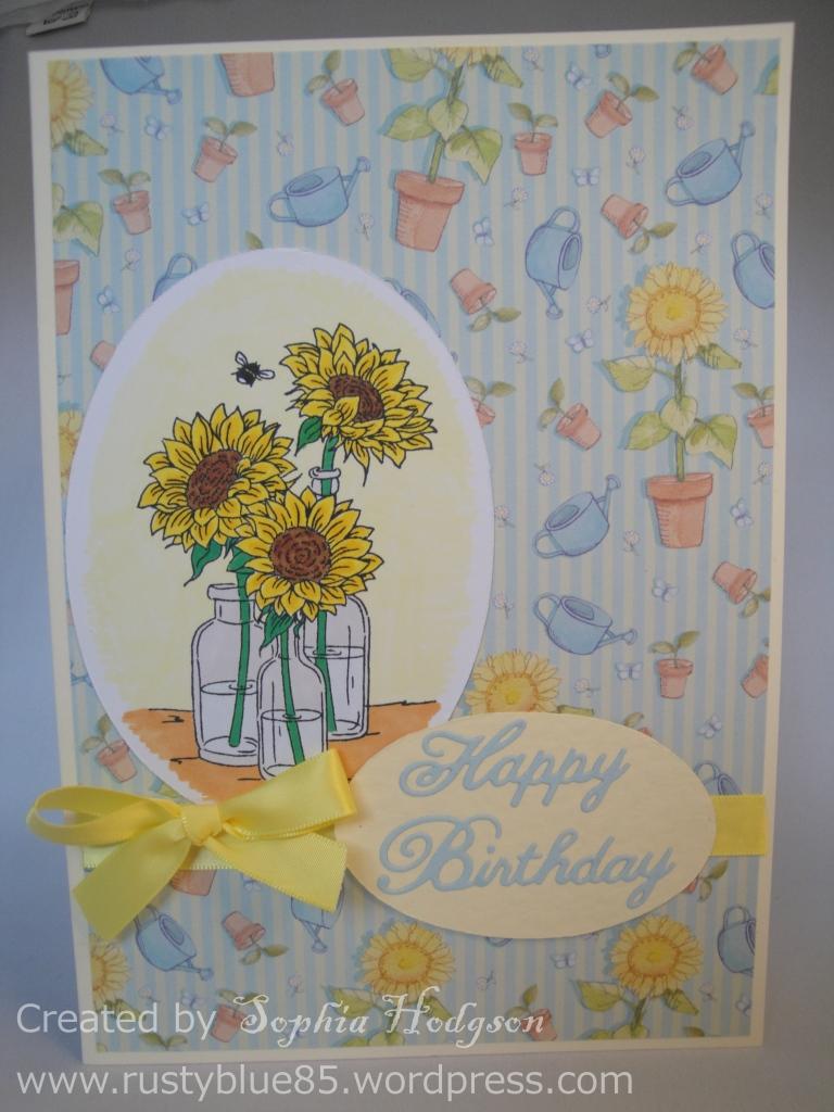 Mum's Birthday card 2014