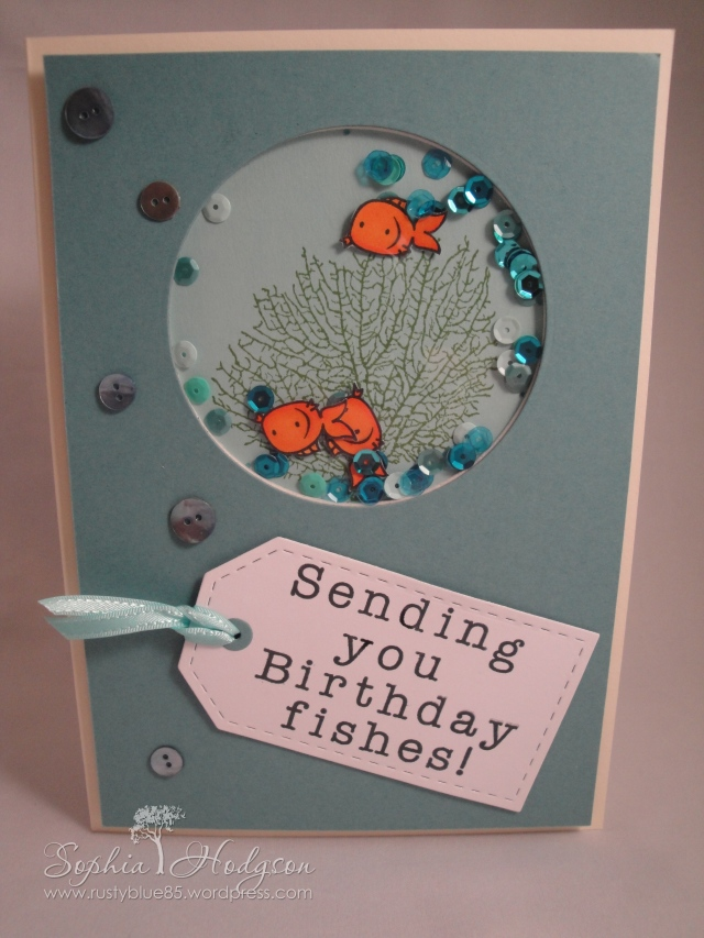Birthday Fishes front