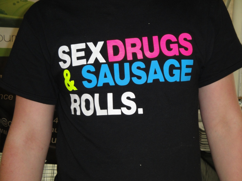 Sex Drugs & Sausage rolls