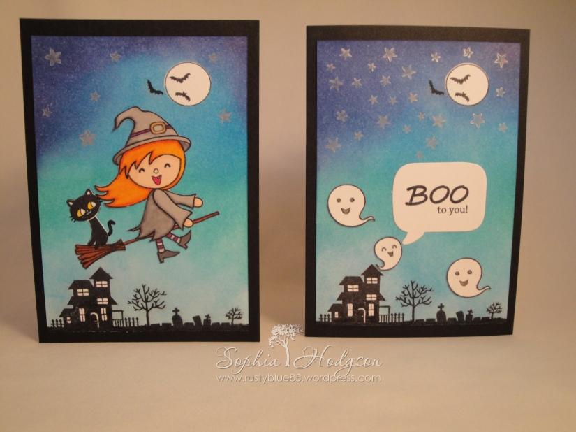 Halloween cards#1
