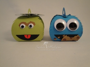 Oscar The Grouch and Cookie Monster