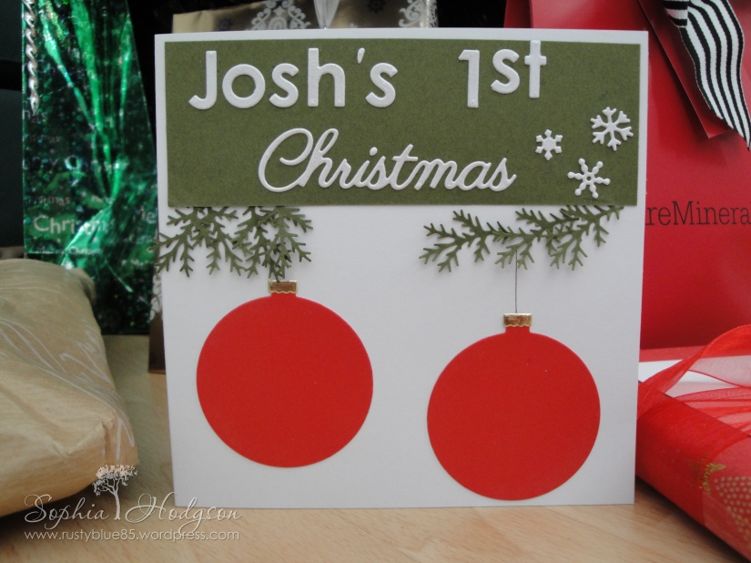 Josh's1stChristmas