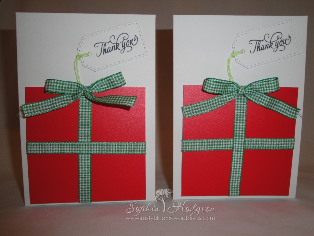 Christmas 2014 Thank you cards